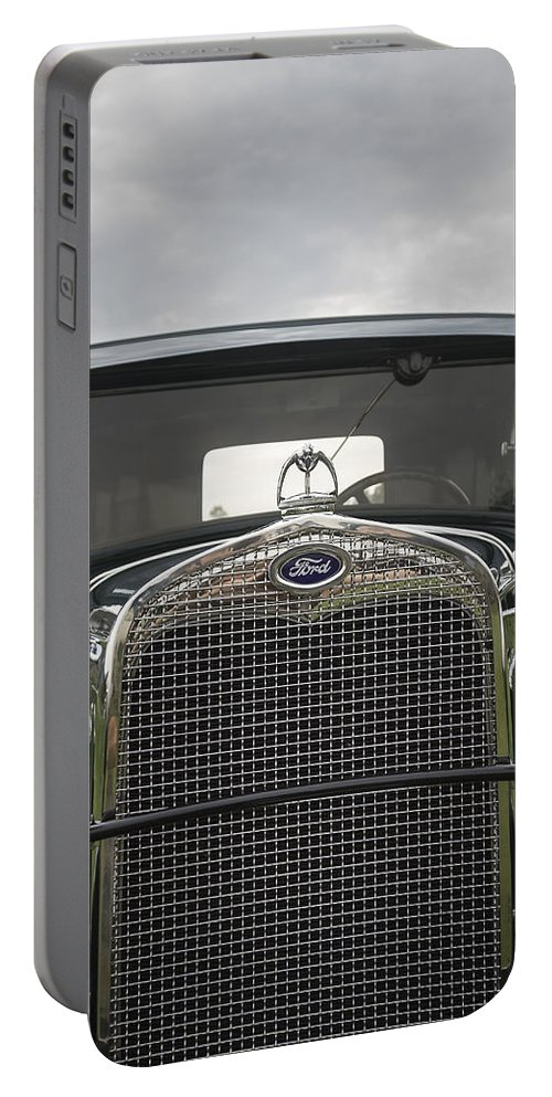 Antique Portable Battery Charger featuring the photograph 1930 Ford Model A by Jack R Perry
