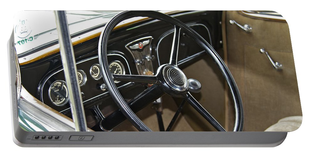 Antique Portable Battery Charger featuring the photograph 1933 Pontiac by Jack R Perry