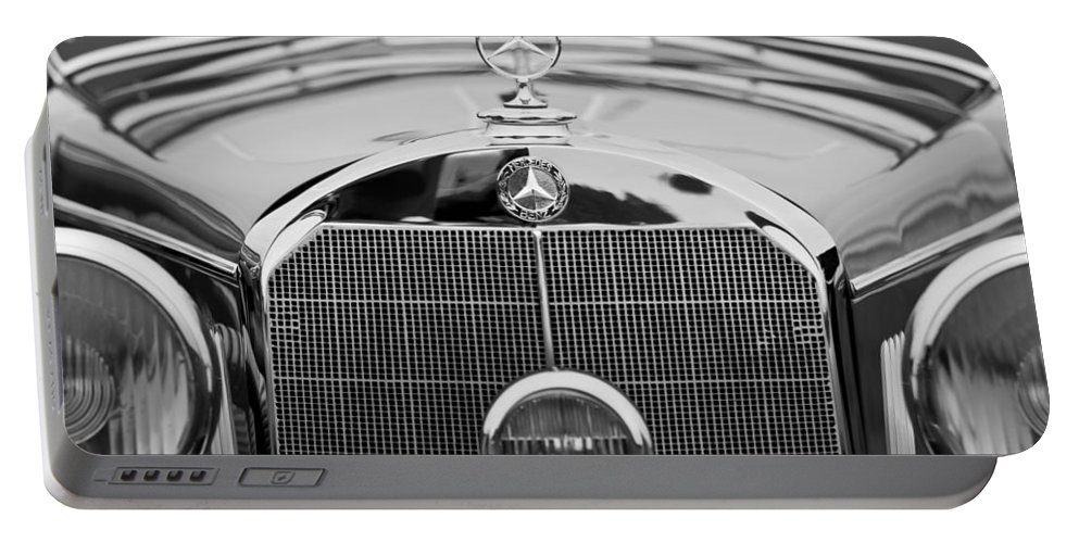 1936 Mercedes-benz 540k Mayfair Special Roadster Portable Battery Charger featuring the photograph 1936 Mercedes-benz 540k Mayfair Special Roadster by Jill Reger