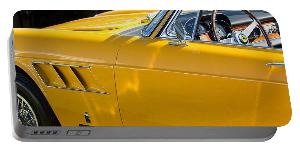 1965 Ferrari 275gts Portable Battery Charger featuring the photograph 1965 Ferrari 275gts by Jill Reger