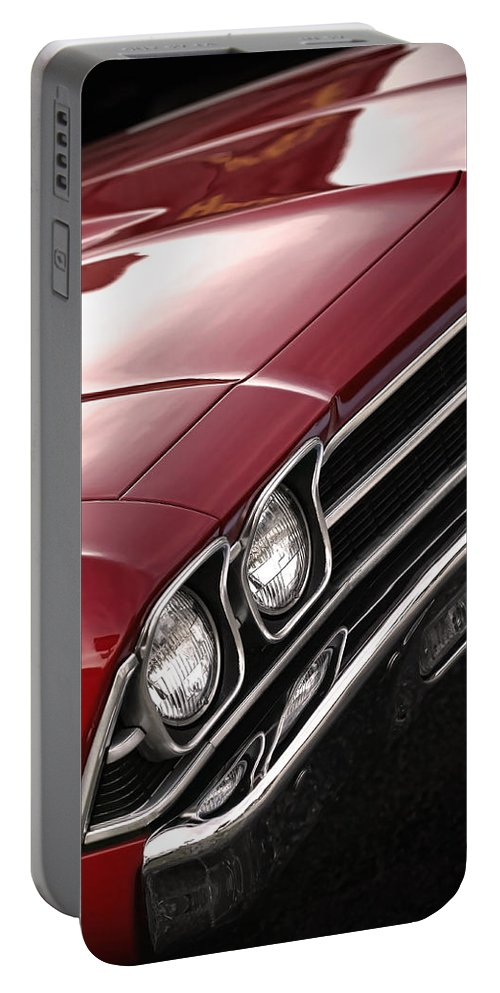 1967 Portable Battery Charger featuring the photograph 1969 Chevrolet Chevelle Ss 396 by Gordon Dean II
