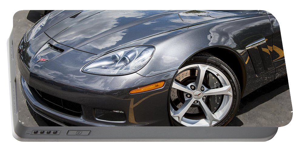 2010 Corvette Portable Battery Charger featuring the photograph 2010 Chevy Corvette Grand Sport by Rich Franco