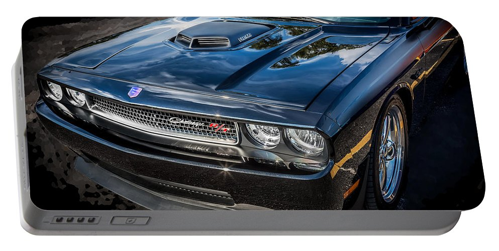 Dodge Portable Battery Charger featuring the photograph 2010 Dodge Challenger Rt Hemi  by Rich Franco