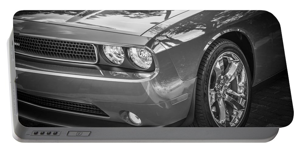 Dodge Portable Battery Charger featuring the photograph 2013 Dodge Challenger by Rich Franco