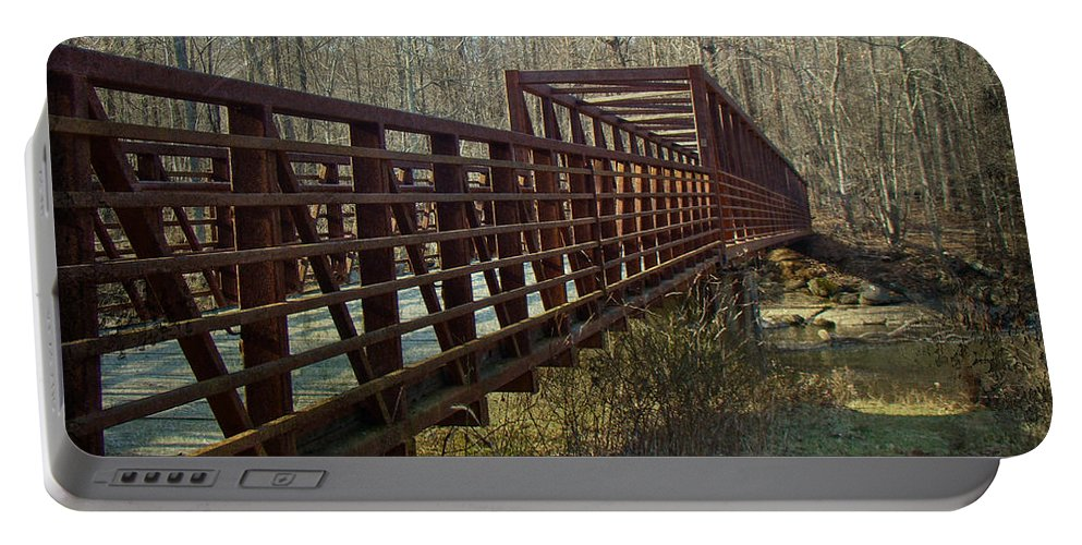 Bridge Portable Battery Charger featuring the photograph A Bridge Too Far by Mother Nature