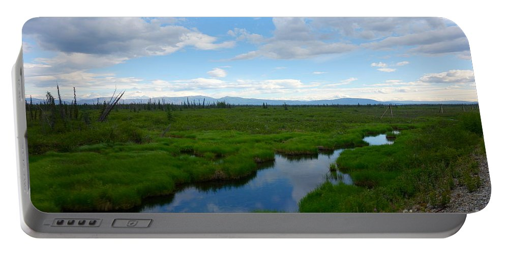 Alaska Portable Battery Charger featuring the photograph Alaskan Tundra by Jacqueline Athmann