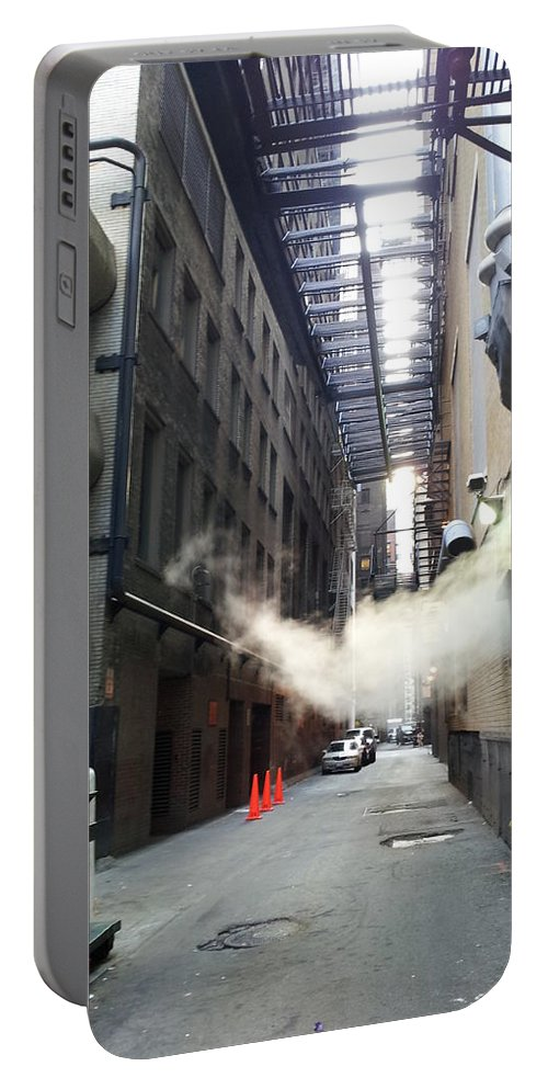 Street Art Portable Battery Charger featuring the photograph Alley 14 by Zac AlleyWalker Lowing