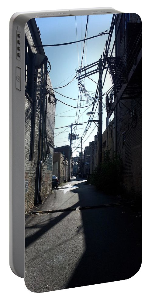 Street Art Portable Battery Charger featuring the photograph Alley 19 by Zac AlleyWalker Lowing