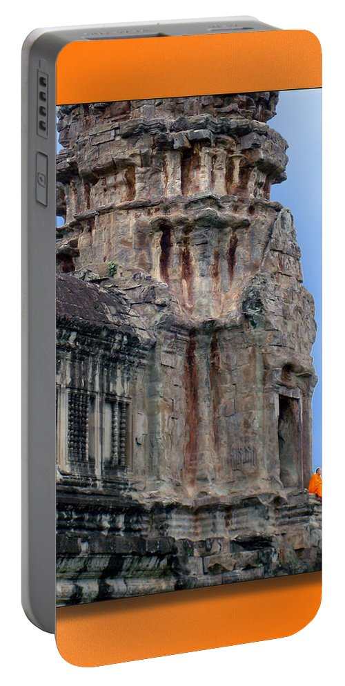 Cambodia Portable Battery Charger featuring the photograph Angkor Wat Cambodia 2 by Jeff Brunton