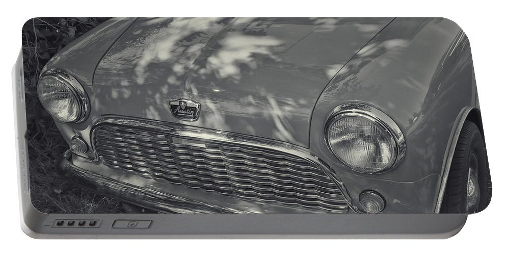 Portable Battery Charger featuring the photograph Austin Healy by Cathy Anderson