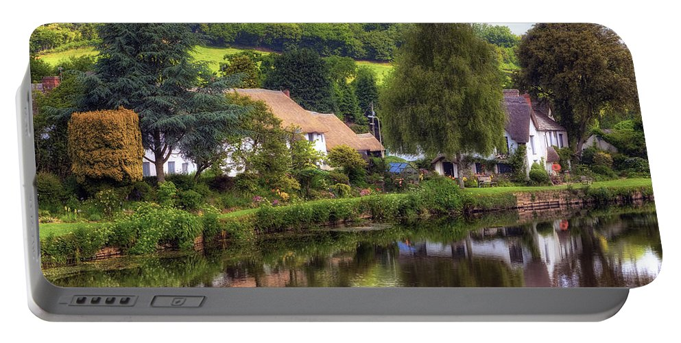Bickleigh Portable Battery Charger featuring the photograph Bickleigh - Devon by Joana Kruse
