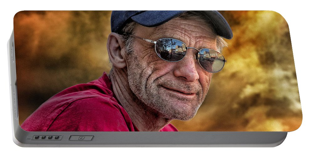 Portable Battery Charger featuring the photograph Bill by John Herzog