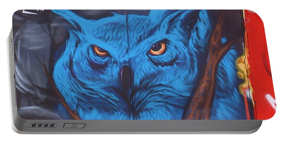 Art Portable Battery Charger featuring the photograph Blue by Chuck Hicks