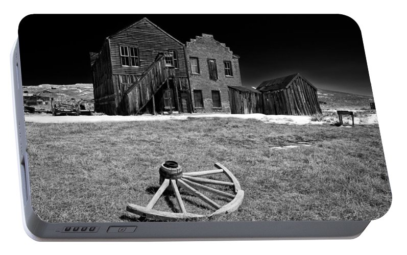 Bodie Portable Battery Charger featuring the photograph Bodie by Cat Connor