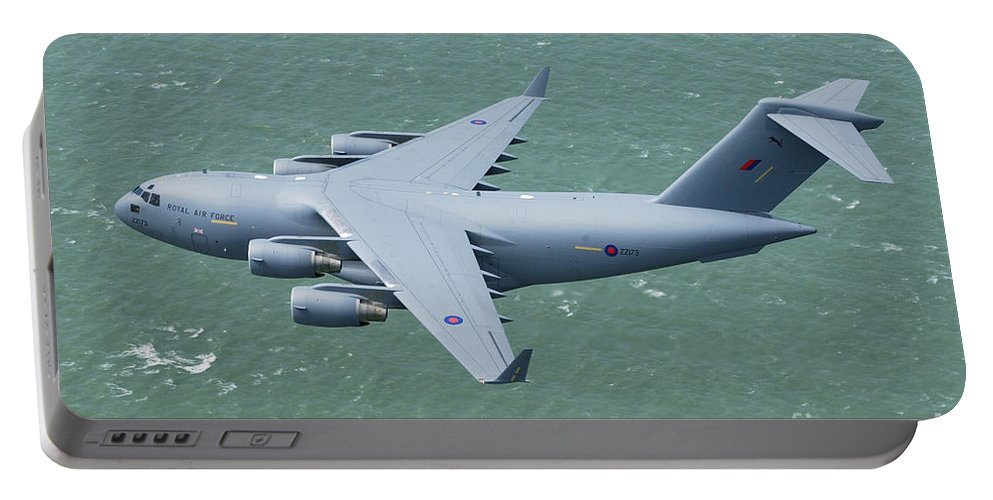 C-17 Portable Battery Charger featuring the photograph C-17 Of 99 Sqn by Paul Fearn