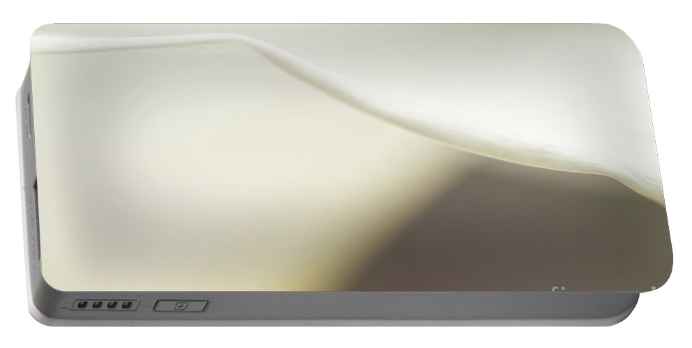 Beauty Portable Battery Charger featuring the photograph Calla Lily Close Up by Jim Corwin
