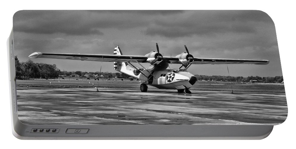 Consolidated Pby Catalina Portable Battery Charger featuring the photograph Catalina by Tommy Anderson