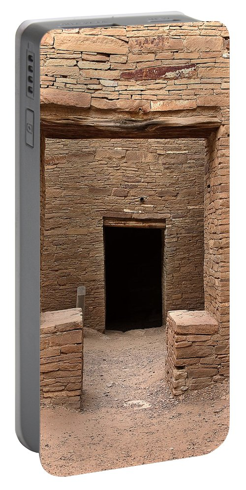 Ralser Portable Battery Charger featuring the photograph Chaco Canyon by Steven Ralser
