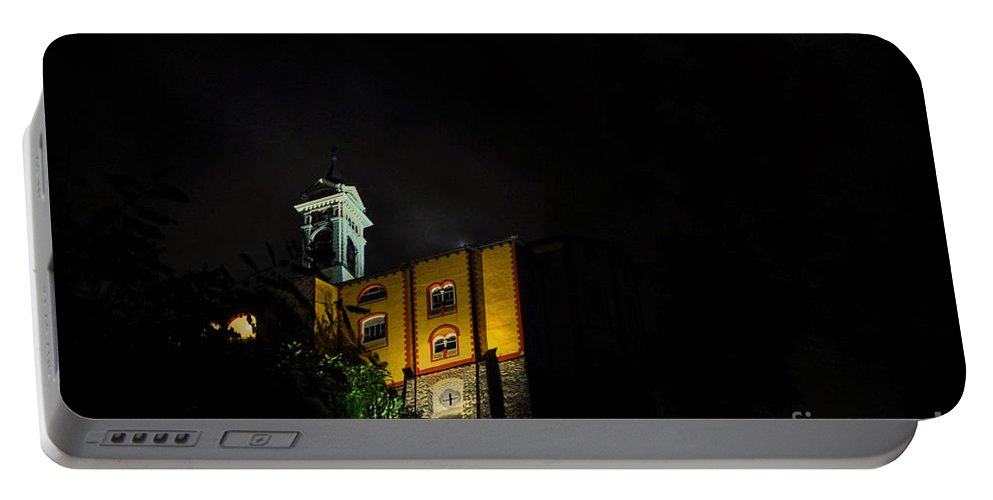 Church Portable Battery Charger featuring the photograph Church by Mats Silvan