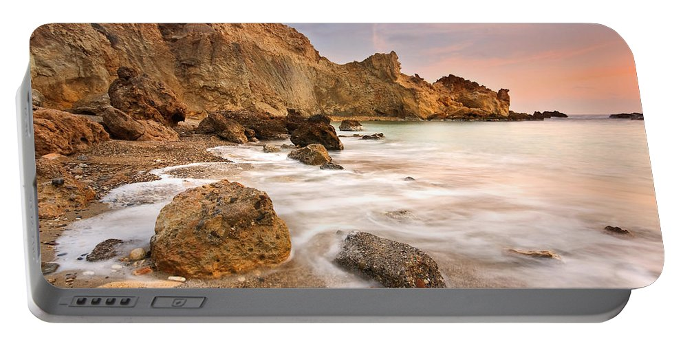 Mediterranean Portable Battery Charger featuring the photograph Southern Crete. by Milan Gonda