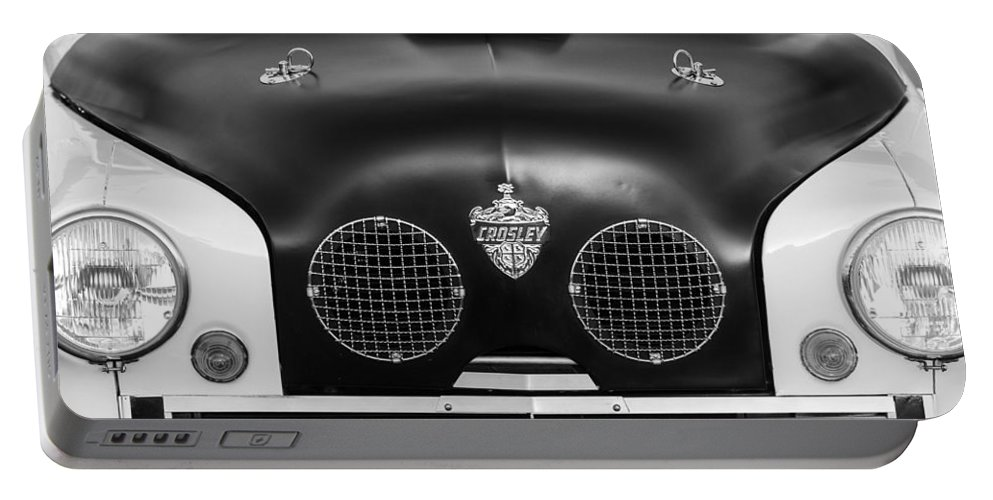 Crosley Front End Portable Battery Charger featuring the photograph Crosley Front End by Jill Reger