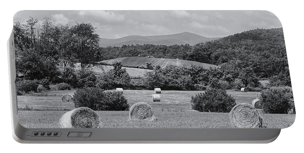 Farm Portable Battery Charger featuring the photograph Down On The Farm by Kim Hojnacki