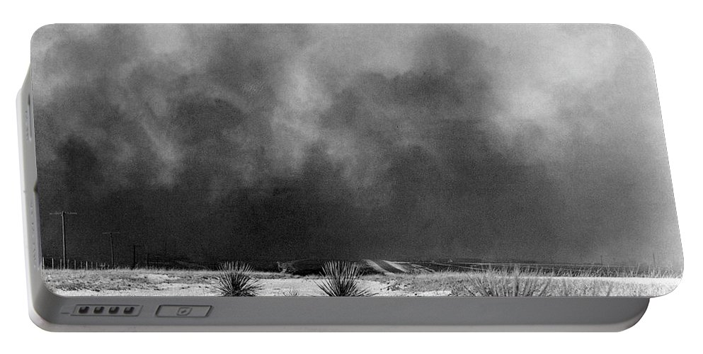 1936 Portable Battery Charger featuring the photograph Drought Dust Storm, 1936 by Granger
