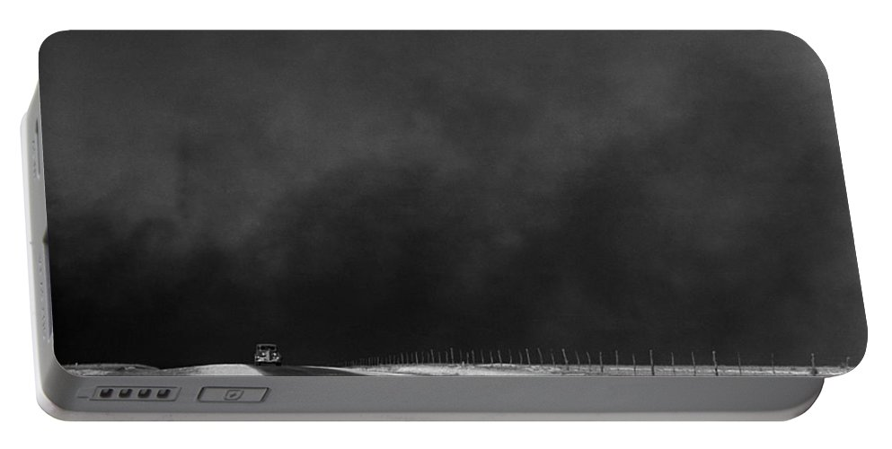 1936 Portable Battery Charger featuring the photograph Dust Bowl, 1936 by Granger