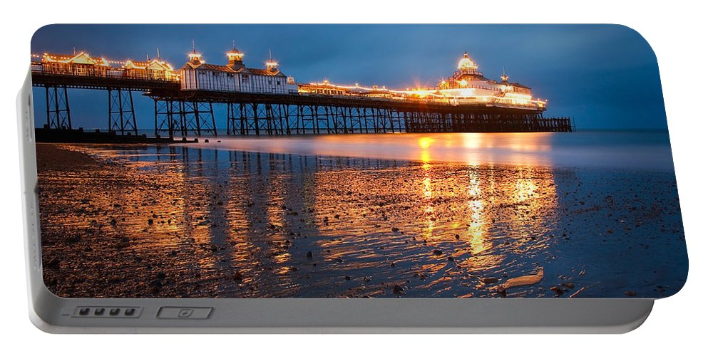 England Portable Battery Charger featuring the photograph Eastbourne Pier by Milan Gonda