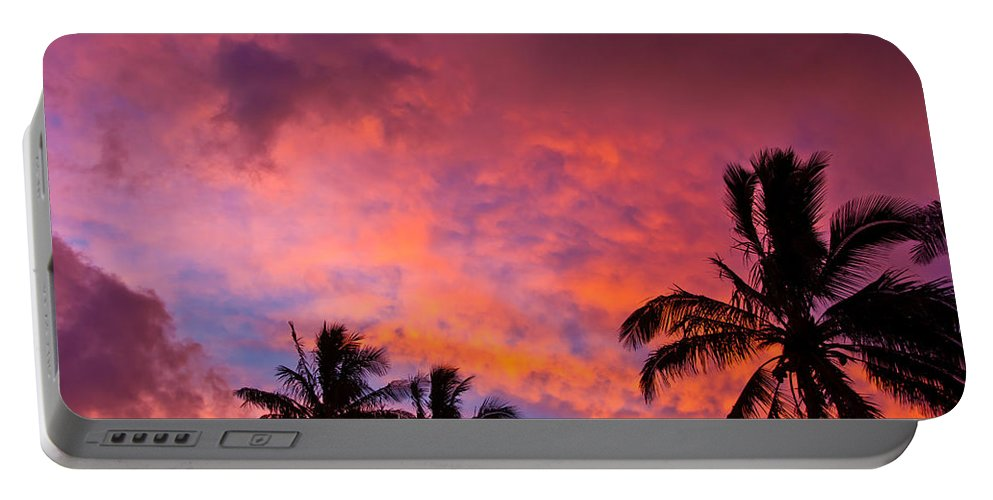 Easter Island Portable Battery Charger featuring the photograph Easter Island Sunrise 2 by Kent Nancollas
