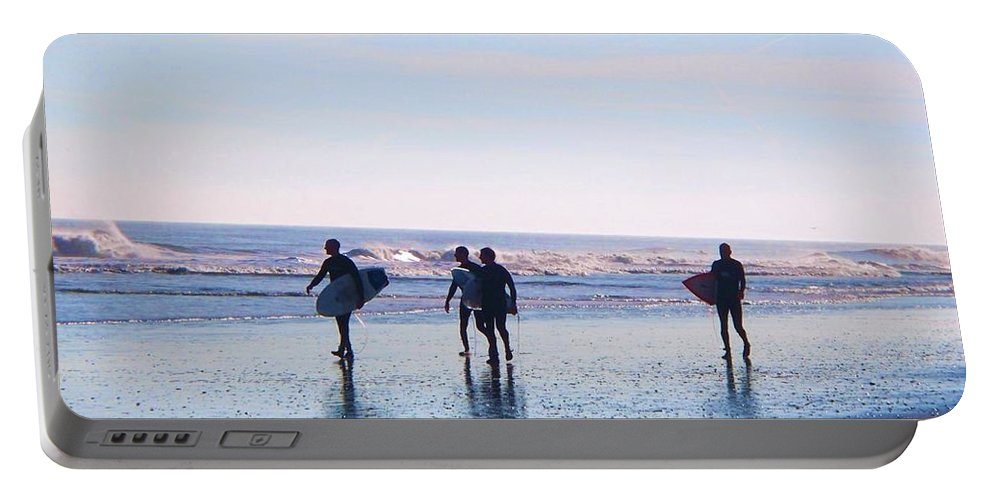 Endless Summer Portable Battery Charger featuring the photograph Endless Summer by Eric Schiabor