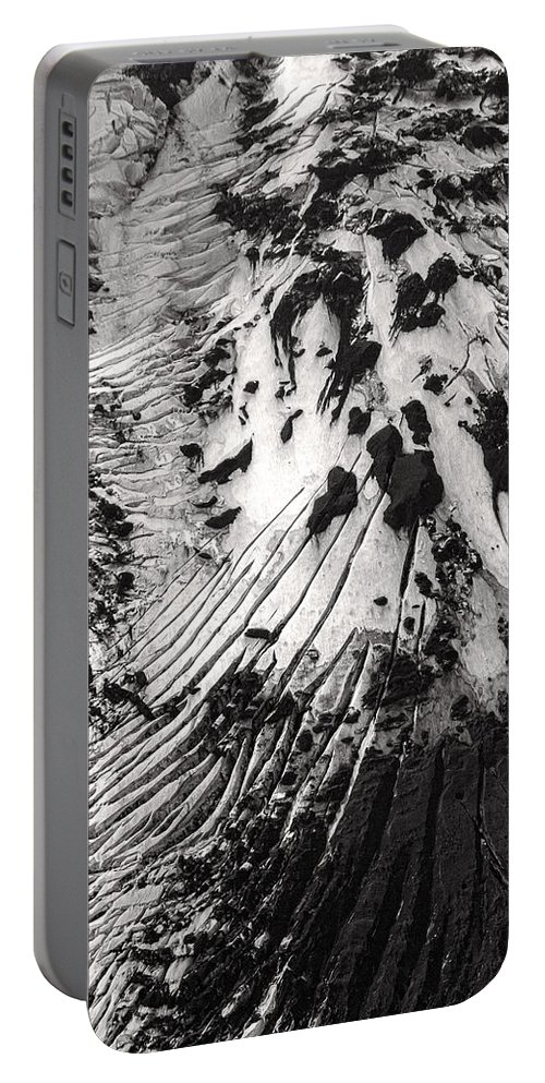 Iceland Portable Battery Charger featuring the photograph Eyjafjallajokull Glacier And Ashes by For Ninety One Days