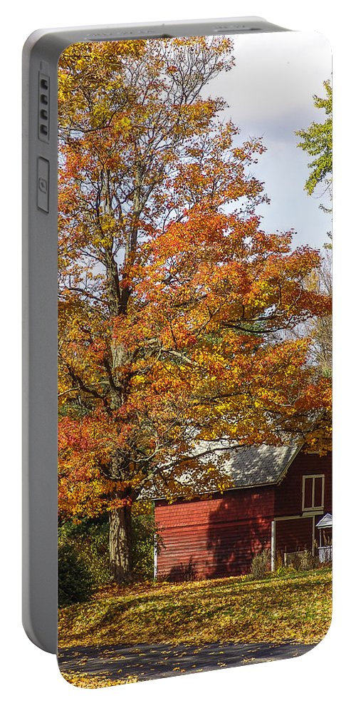 Fall Portable Battery Charger featuring the photograph Fall View by Eric Swan
