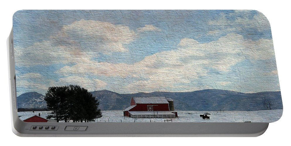 Farm Portable Battery Charger featuring the photograph Farm Life by Todd Hostetter
