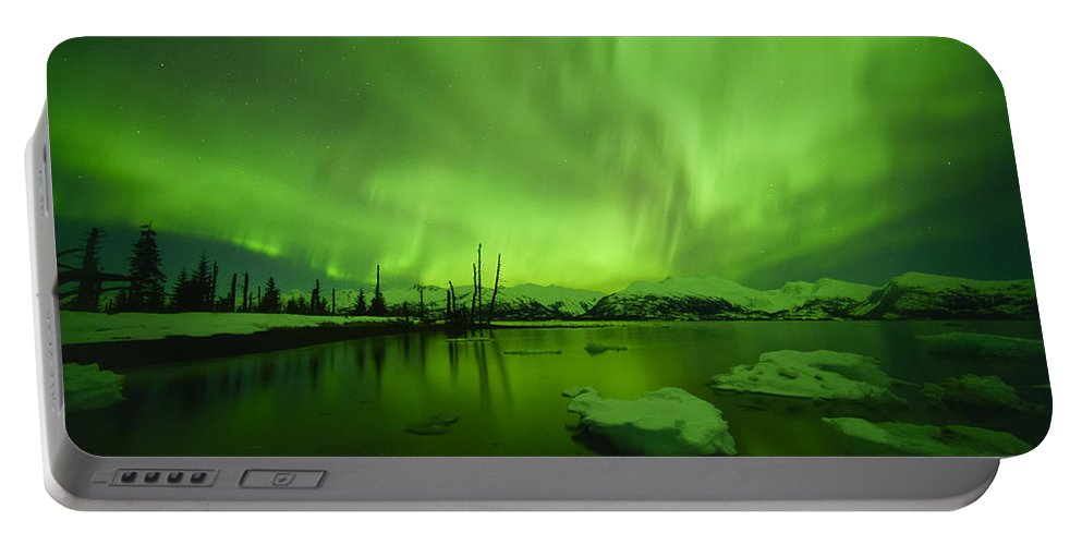 Aurora Portable Battery Charger featuring the photograph Forces Of Nature by Ted Raynor