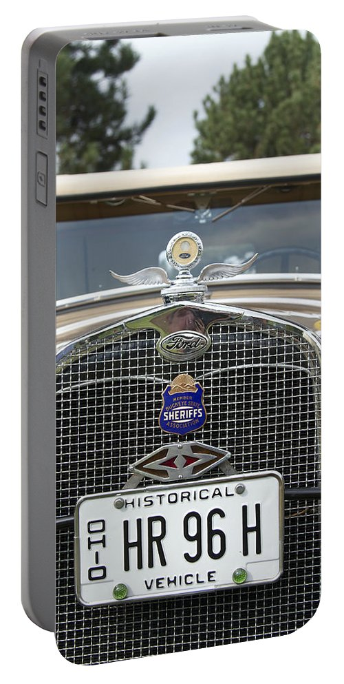 Antique Portable Battery Charger featuring the photograph Ford by Jack R Perry