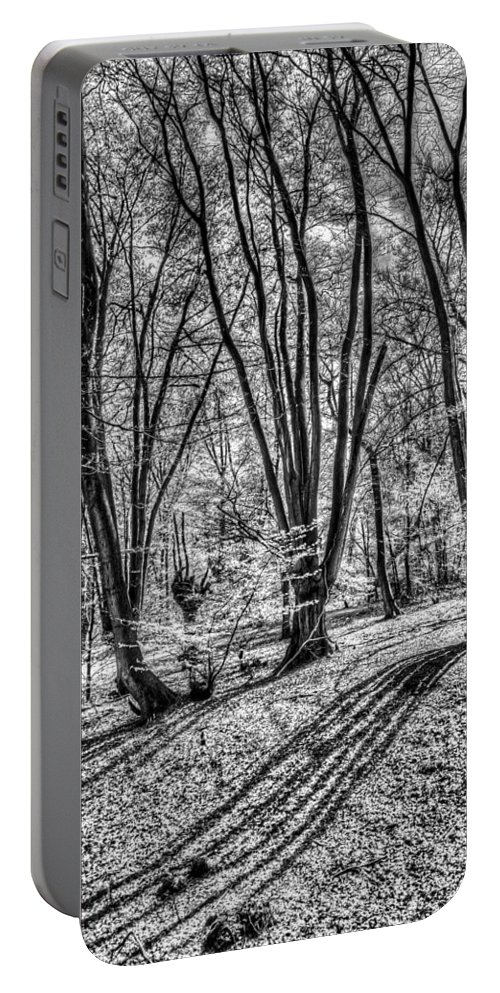 Forest Portable Battery Charger featuring the photograph Forest View by David Pyatt