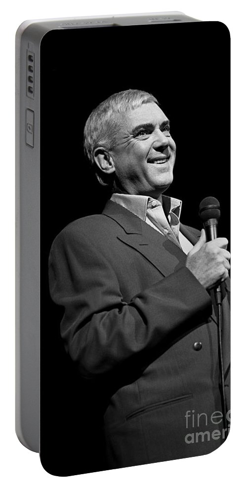 Vocals Portable Battery Charger featuring the photograph Gene Pitney by Concert Photos