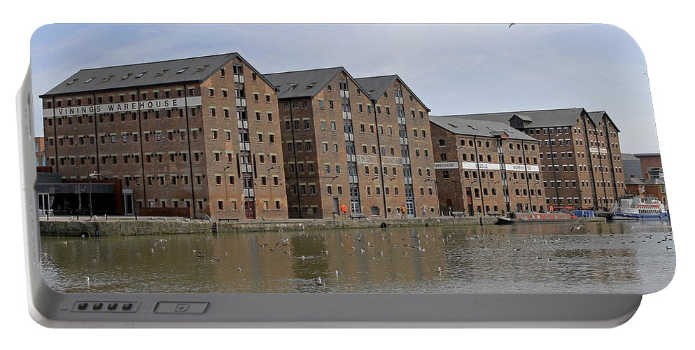 Gloucester Portable Battery Charger featuring the photograph Gloucester Docks by Tony Murtagh