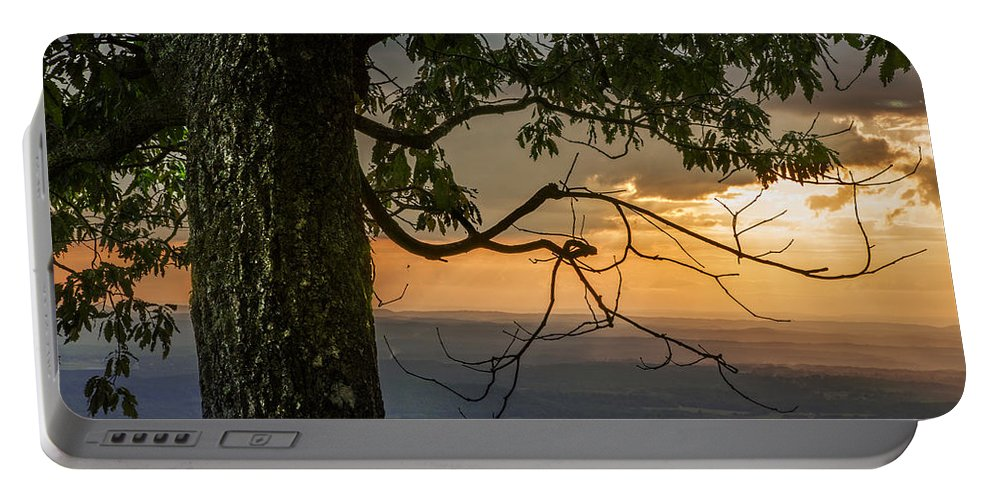 Appalachia Portable Battery Charger featuring the photograph Golden by Debra and Dave Vanderlaan