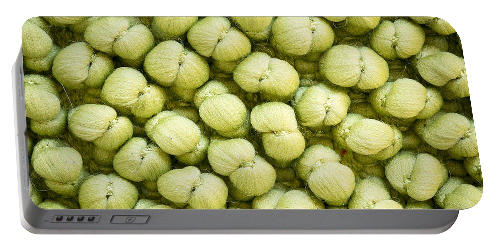 Green Portable Battery Charger featuring the photograph Green Background by Tim Hester
