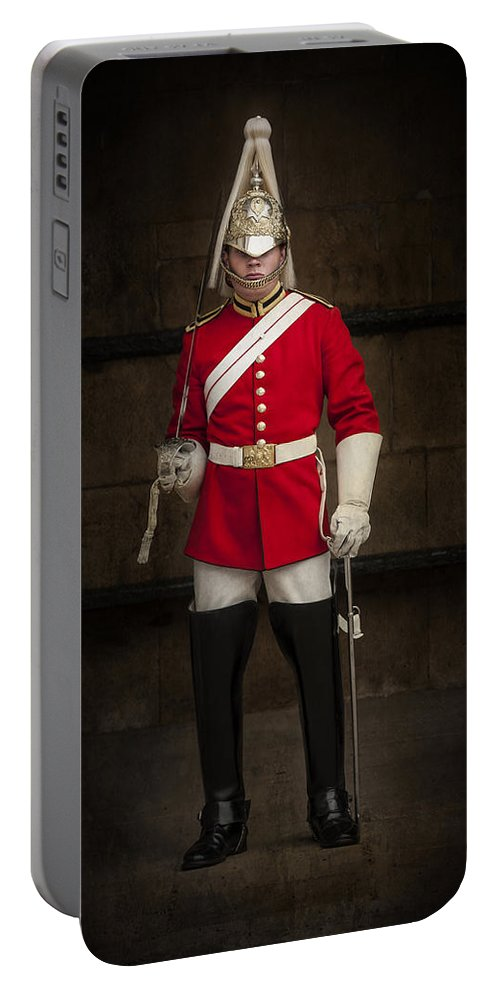 London Portable Battery Charger featuring the photograph Guardian by Svetlana Sewell