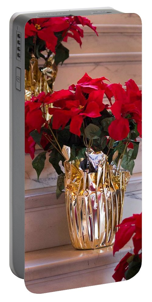 Christmas Portable Battery Charger featuring the photograph Happy Holidays by Patricia Babbitt