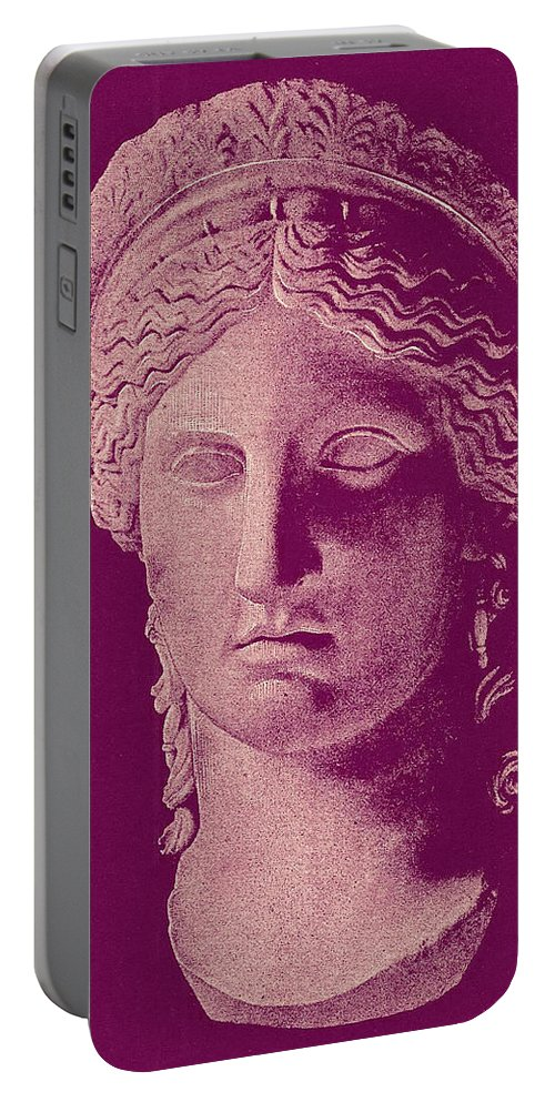 Hera Portable Battery Charger featuring the photograph Hera by Ellen Henneke