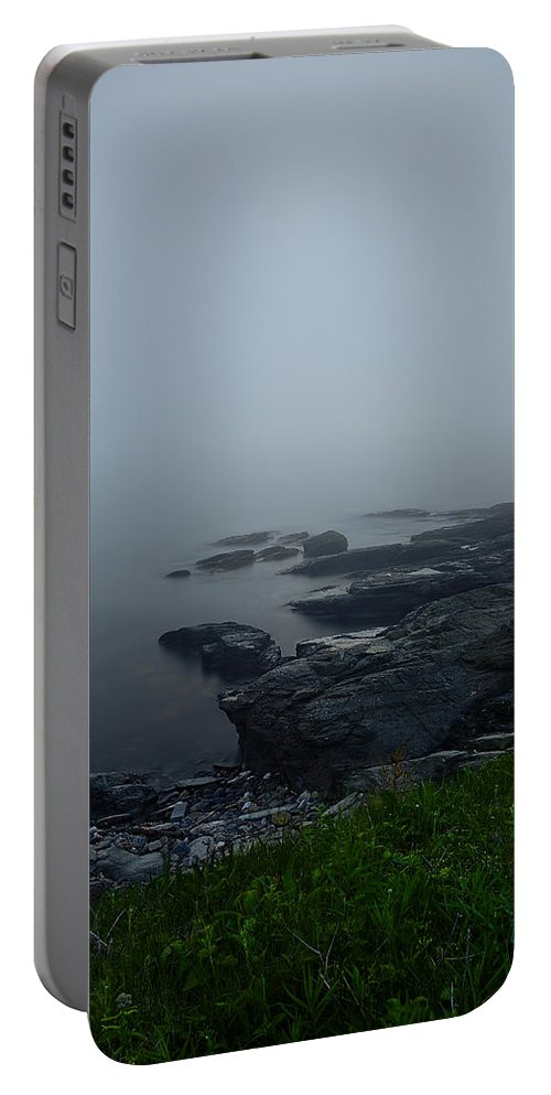 Rhode Island Portable Battery Charger featuring the photograph Hidden Glow by Lourry Legarde