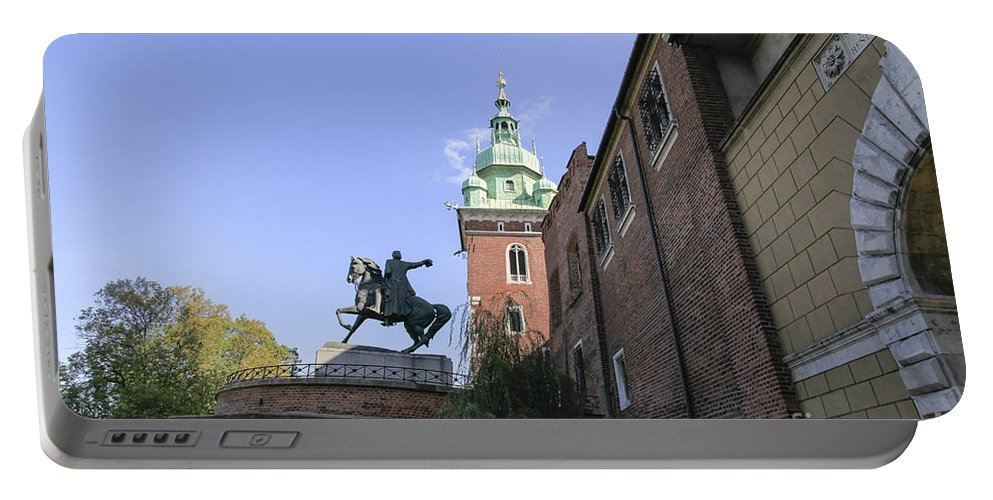 Architecture Portable Battery Charger featuring the photograph Historic Centre Cracow Poland by Vladi Alon