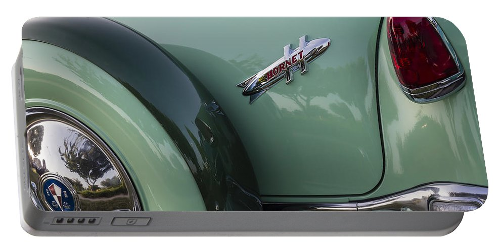 1954 Hudson Portable Battery Charger featuring the photograph Hudson Hornet by Dennis Hedberg