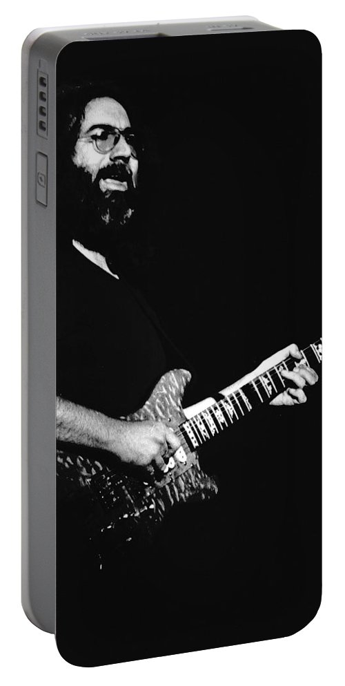 Jerry Garcia Portable Battery Charger featuring the photograph Jerry In Cheney 1 by Ben Upham