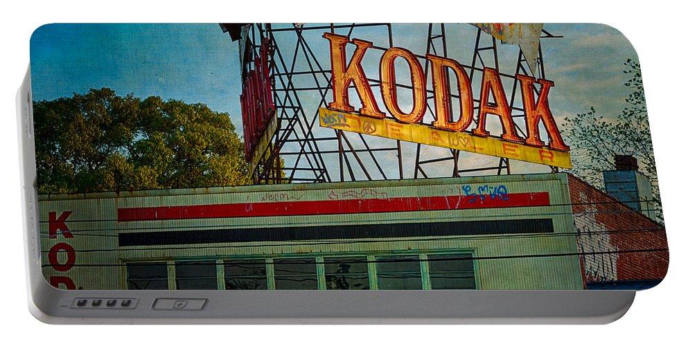 Kodak Portable Battery Charger featuring the photograph Kodak's Moment by Doug Sturgess