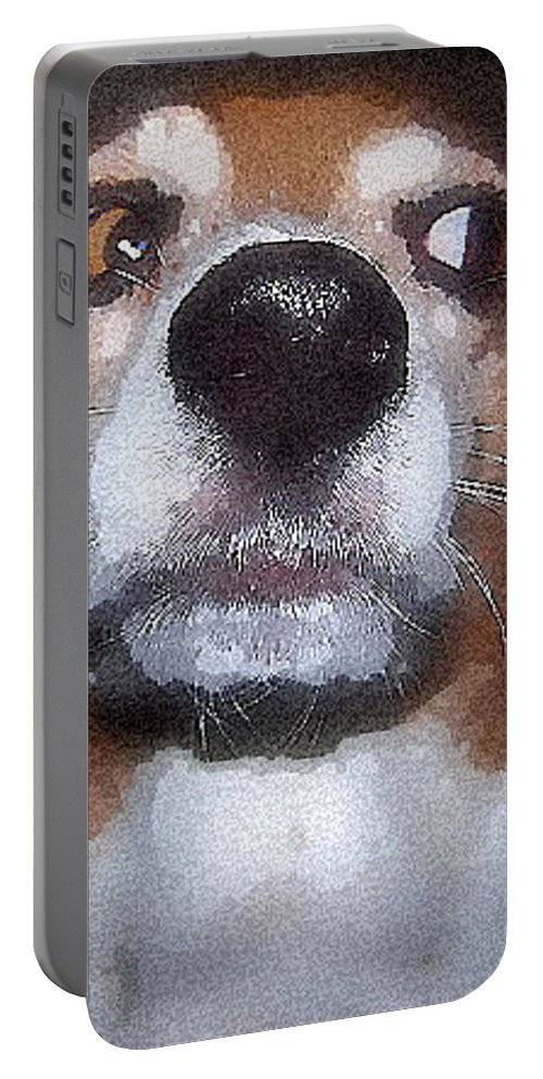Beagle Portable Battery Charger featuring the photograph Lady 2 by April Patterson